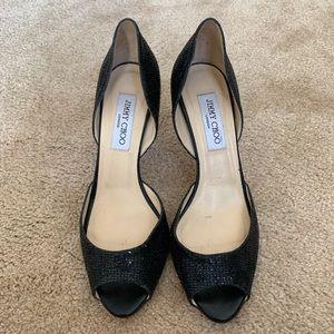 Jimmy Choo Shoes - Jimmy Choo Isabel Peep Toe Pumps